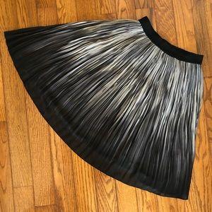 Tahari ombre pleated skirt
